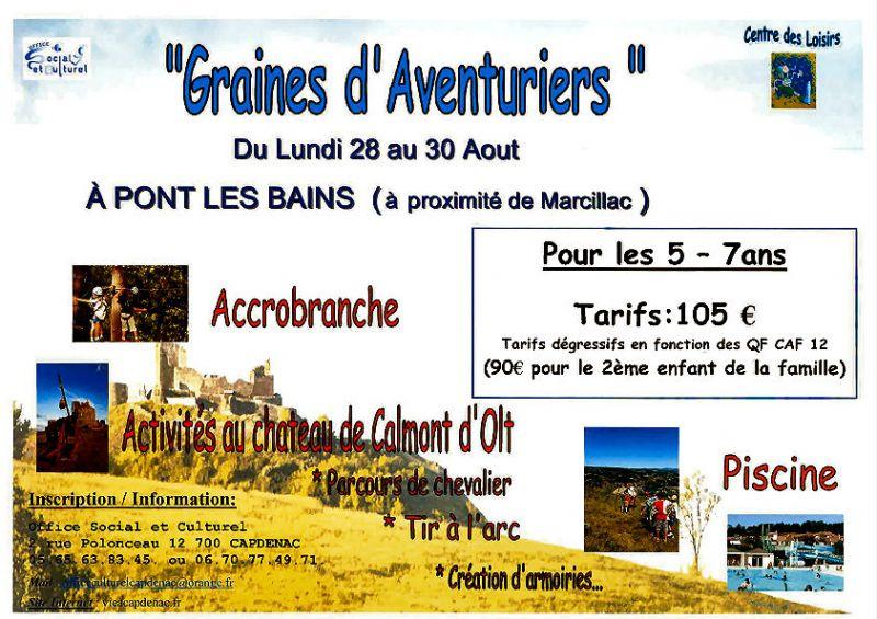 Graines d\'Aventuriers